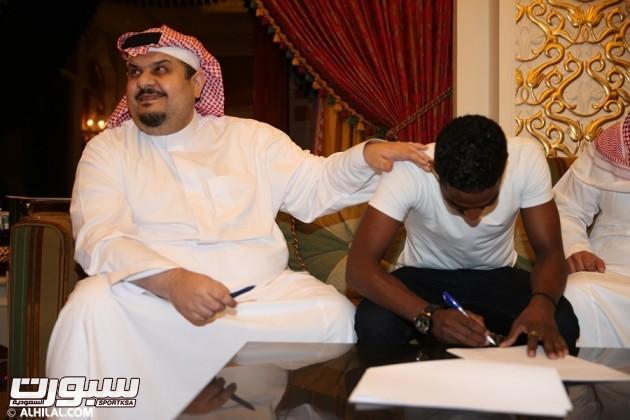 صورة من مراسم التوقيع - موقع الهلال