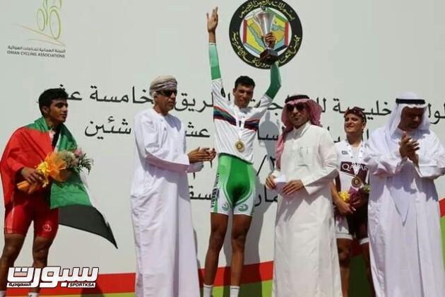 لاعب الدراجات بنادي السلام النجم مصطفى الربيع