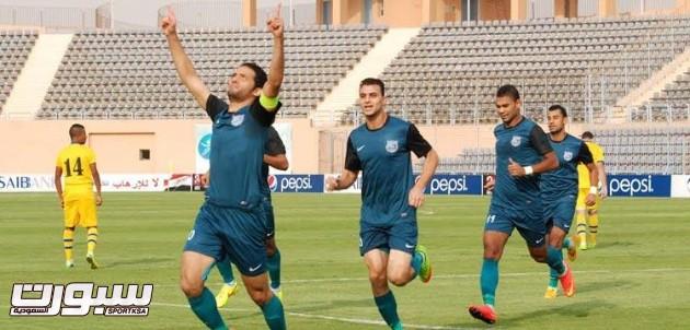 إنبي يتربع على صدارة الدوري المصري