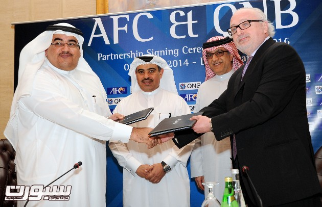 AFC QNB Signing. Picture by: Salim Matramkot