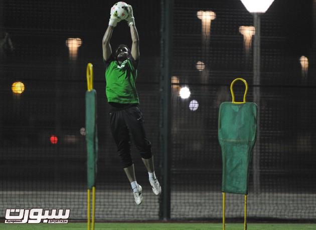 تدريبات الأخضر منتخب السعودية