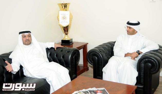 رئيس الاتحاد البحريني يتلقى الدعوة الرسمية للمشاركة في خليجي 22
