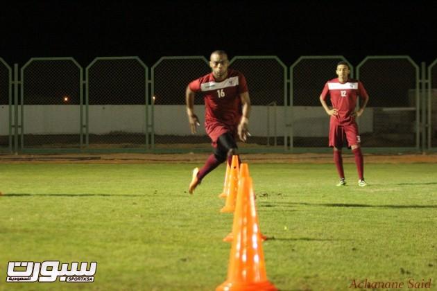 بالصور | لاعبو الفيصلي يجرون اختبارات السرعة و الراحة لمدة 7 أيام
