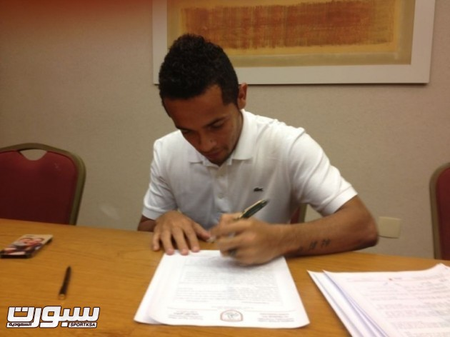 رافينها لاعب الشباب القادم من الدوري البرازيلي