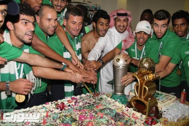 الاهلي بطل كأس الامير فيصل