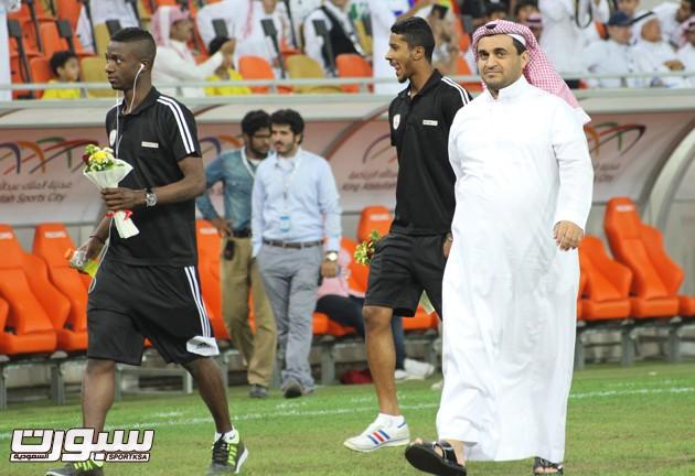 خالد البلطان رئيس نادي الشباب