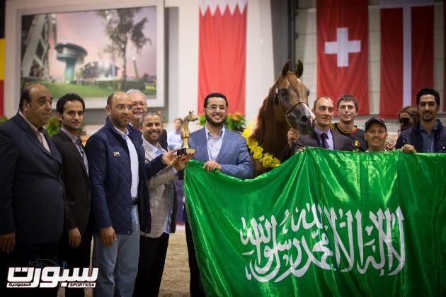 خالد السيد يحتفل بالبطولة مع الفحل