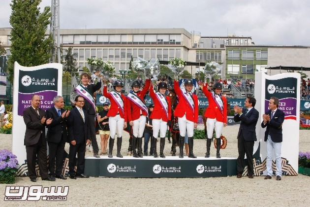 USA Winner Consolation Final Furusiyya FEI Nations Cup Jumping Final