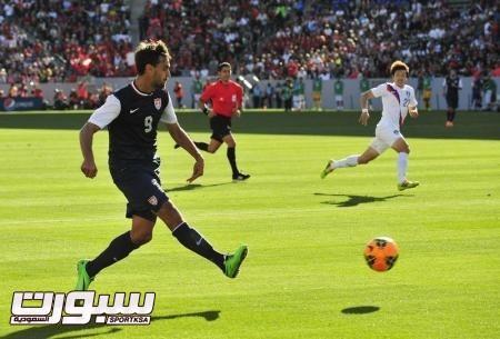 فوندولوفسكي يقود المنتخب الامريكي للفوز على كوريا الجنوبية وديا