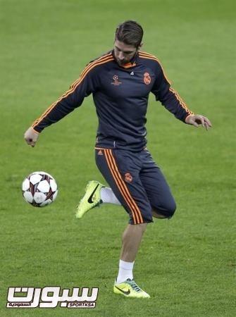 شكوك حول مشاركة راموس مع ريال مدريد أمام اسبانيول
