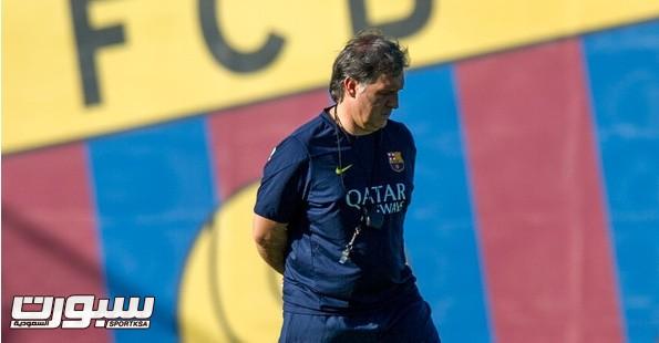 تاتا مدرب برشلونة