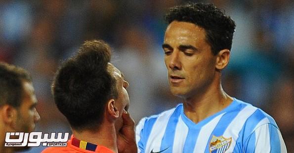 ويليجتون مدافع فريق ملقا الأسباني