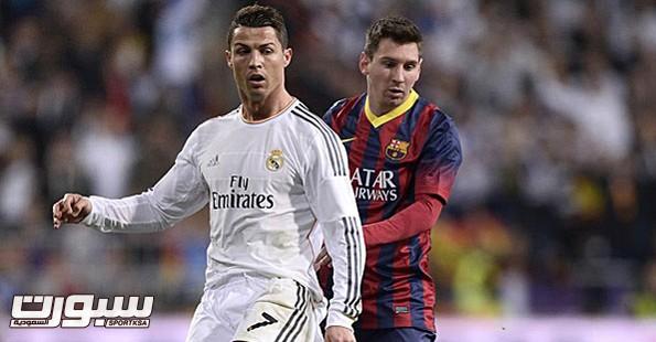 الكلاسيكو ريال مدريد و برشلونة