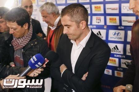 حكم يعترف باحتساب ثلاثة أهداف لموناكو من تسلل أمام ليون