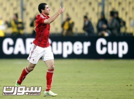 هدف ربيعة يمنح الأهلي صدارة مجموعته في الدوري المصري