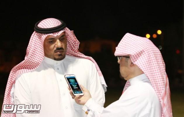 عبدالعزيز الملحم المشرف العام على كرة القدم بنادي هجر