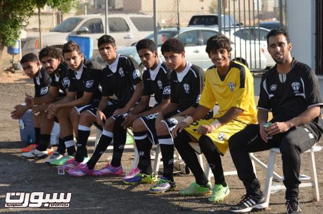 شباب هجر يختتمون مبارياتهم في كأس الاتحاد برباعية في مرمى الفتح